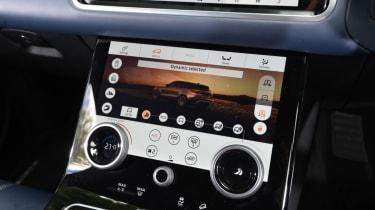 Range Rover Velar - central controls