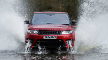 Range Rover Sport SVR - splash 2