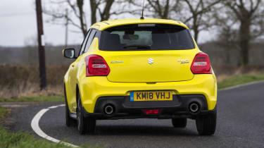 Suzuki Swift Sport - rear stationary