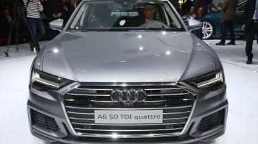 New Audi A6 - Geneva full front