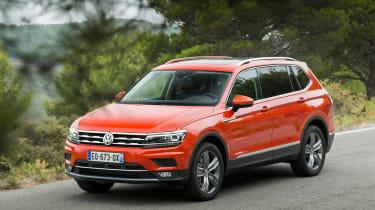 Volkswagen Tiguan Allspace - front/side