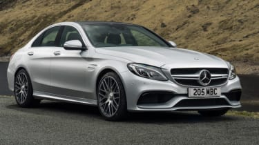 Mercedes C63 AMG saloon - static front