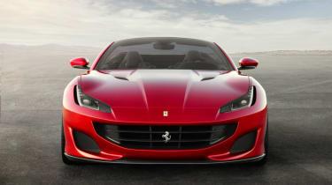 Ferrari Portofino - bonnet