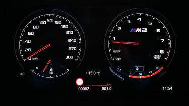 BMW M2 CS - dials