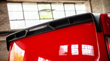 MS-RT Ford Transit Custom rear spoiler