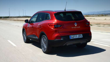 New Renault Kadjar 2015 rear