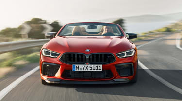 BMW M8 Competition Convertible - full front