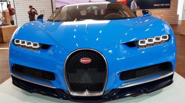 Bugatti Chiron - full front