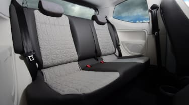 Volkswagen up! - long termer second report rear seats
