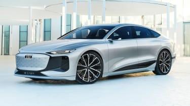 Audi A6 e-tron concept - front static