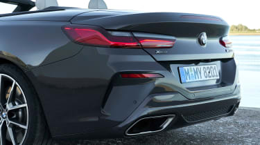 BMW 8 Series Convertible - rear detail