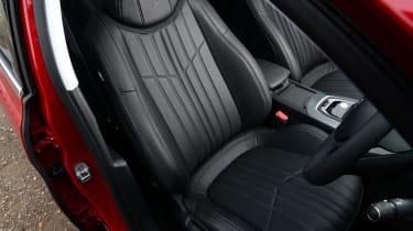 Peugeot 308 SW long termer front seat
