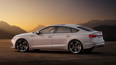 Audi S5 Coupe - side