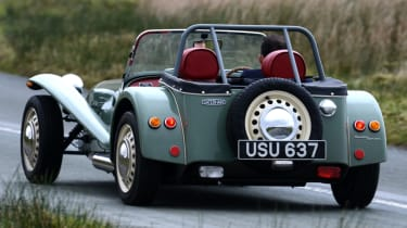 Caterham Seven road trip - rear end action