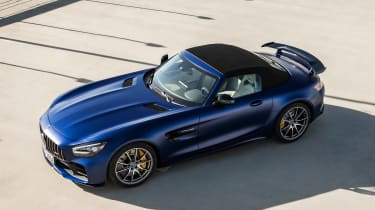 Mercedes-AMG GT R Roadster - above roof up