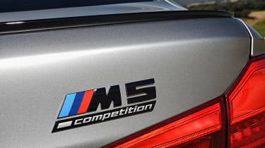 BMW M5 Competition - M5 Competition badge