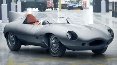 Jaguar D-Type continuation header