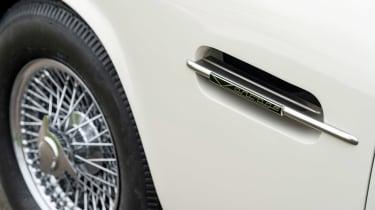 Electric Aston Martin DB6 Mk2 Volante - side detail