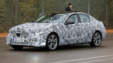 New Mercedes C-Class - spy shot 2