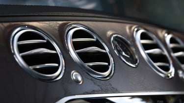 Mercedes S-Class - air vents