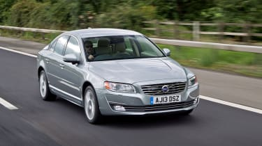 Volvo S80 Front action