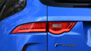 Jaguar F-Pace SVR - rear light