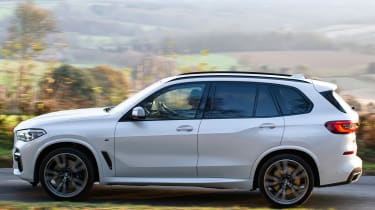 bmw x5 m50d side profile