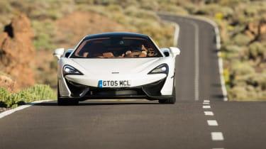 McLaren 570GT - full front