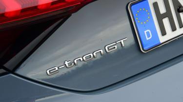 Audi e-tron GT - badge