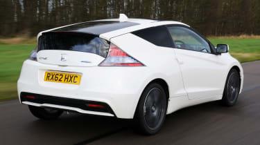 Honda CR-Z rear tracking