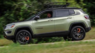 Jeep's wildest concepts driven - Trailpass side profile