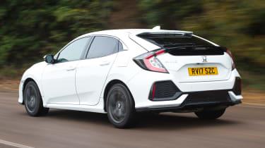Honda Civic long-term review - Civic rear