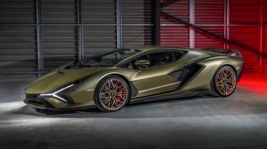 Lamborghini Sian - front static