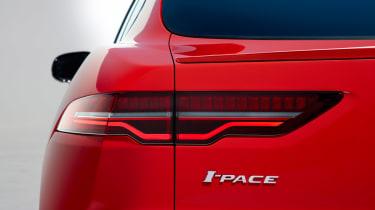 Jaguar I-Pace - studio rear detail