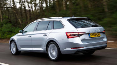 Skoda Superb iV Estate - rear