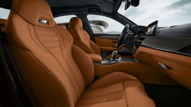 BMW M5 Competition Pack - front seats