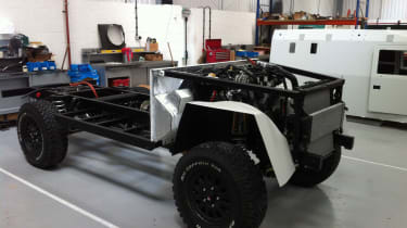 Ovik Crossway chassis