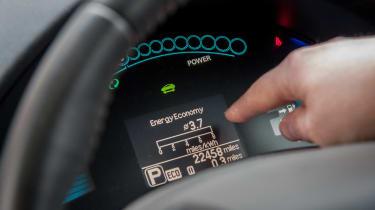 Electric car case study - Nissan Leaf Mark Tebbutt instruments