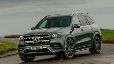 Mercedes GLS - front cornering
