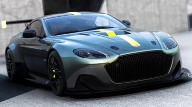 Aston Martin AMR brand - Vantage Pro front quarter