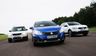 Suzuki SX4 S-Cross vs rivals 2013