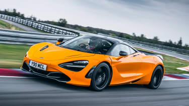 McLaren 720S Track Pack - front action