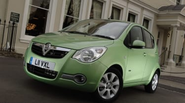 The Vauxhall Agila is the smallest model in vauxhall line up.