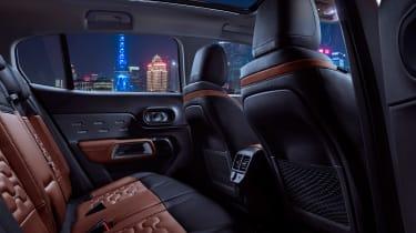 Citroen C5 Aircross - rear seats