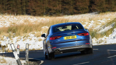 Audi A5 Sportback - rear cornering