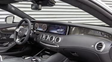 Mercedes S63 AMG cabin