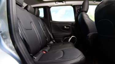 Used Jeep Renegade - rear seats