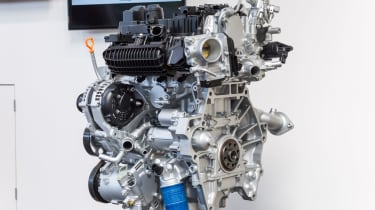 Honda Civic VTEC Turbo engines