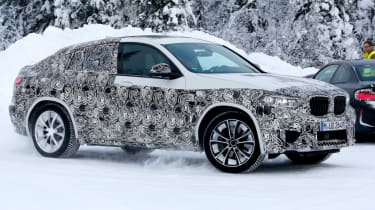 BMW X4 M almost side profile