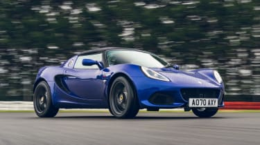 Lotus Elise Final Edition - front